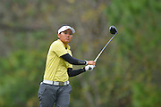 Sherman Santiwiwatthanaphong during the fourth round of the LPGA Qualifying Tournament Stage Three at LPGA International in Daytona Beach, Florida on Dec. 5, 2015.<br /> <br /> ©2015 Scott A. Miller