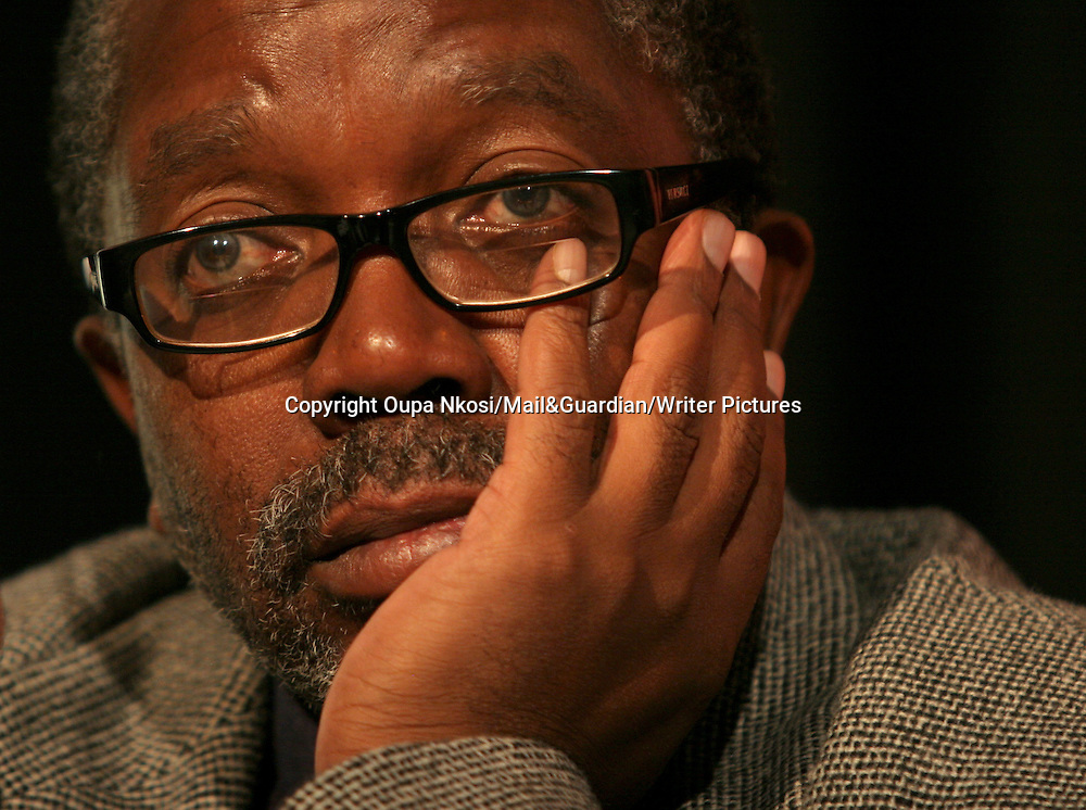 African writer and journalist John Matshikiza at the Mail and Guardian's critical thinking forum 2007<br /> <br /> Copyright Oupa Nkosi/Mail&amp;Guardian/Writer Pictures<br /> contact +44 (0)20 822 41564<br /> info@writerpictures.com<br /> www.writerpictures.ocm