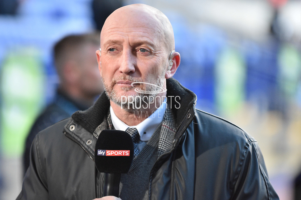 Iain Dowie before the Sky Bet Championship match between Bolton Wanderers and Middlesbrough at the Macron Stadium, Bolton, England on 16 April 2016. Photo by Mark Pollitt.