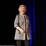 Hillary Clinton at the Book Expo at the Javits Convention Center in New York City on June 1, 2017.