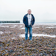 Denis Ferry in Magheroarty, Co Donegal. Denis was abused by Dinny Mc Ginley, a local teacher that the childern nicknamed 'poofey den' due to his reputation for liking young boys. The abuse started at a youth club close to this beach. Mc Ginley was convicted in 2002 of molesting children over a seventeen year period.