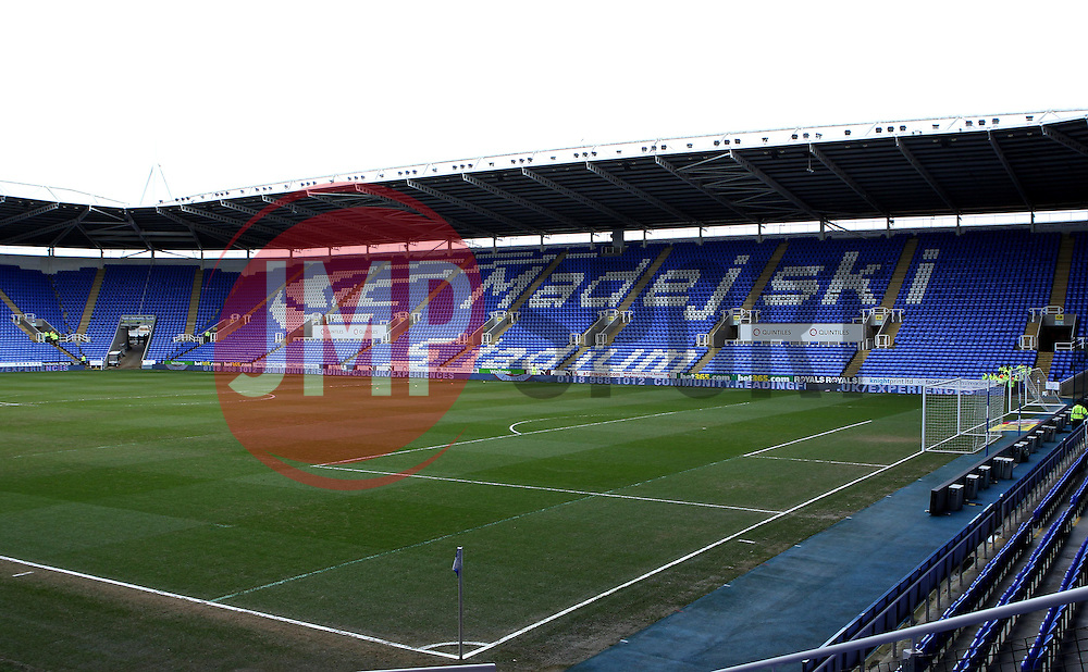The Madejski Stadium - Photo mandatory by-line: Robbie Stephenson/JMP - Mobile: 07966 386802 - 28/02/2015 - SPORT - Football - Reading - Madejski Stadium - Reading v Nottingham Forest - Sky Bet Championship