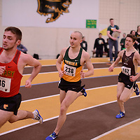 Marc Turmel in action during the 2018 Canada West Track & Field Championship on February  23 at James Daly Fieldhouse. Credit: Arthur Ward/Arthur Images