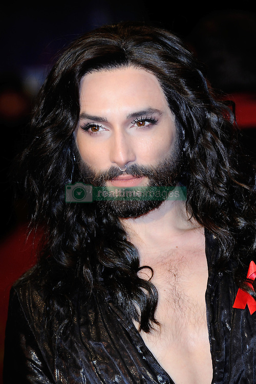Conchita Wurst attending the closing ceremony for the 67th Berlin International Film Festival (Berlinale) in Berlin, Germany on Februay 18, 2017. Photo by Aurore Marechal/ABACAPRESS.COM