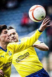Morton's Mark McLaughlin..Falkirk 4 v 1 Morton, 4/5/2013..© Michael Schofield..