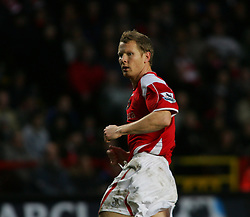 London, England - Saturday, January 13, 2007: Charlton Athletic's Ben Thatcher against Middlesbrough during the Premiership match at the Valley. (Pic by Chris Ratcliffe/Propaganda)