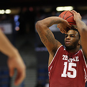 Jaylen Bond, Temple, in action during the Temple Vs SMU Semi Final game at the American Athletic Conference Men's College Basketball Championships 2015 at the XL Center, Hartford, Connecticut, USA. 14th March 2015. Photo Tim Clayton