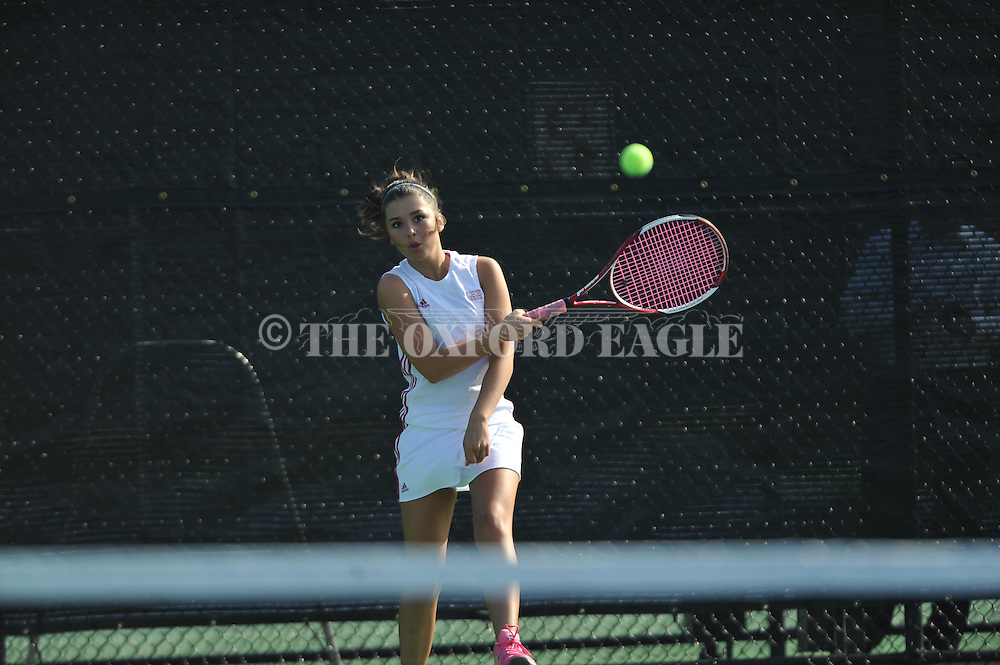 Lafayette High's Sadie Wilson plays against Cleveland in Oxford,  Miss. on Thursday, April 2, 2015.