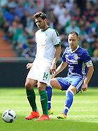 Claudio Pizarro of SV Werder Bremen and John<br /> Terry of Chelsea during the pre season friendly match at Weserstadion, Bremen, Germany.<br /> Picture by EXPA Pictures/Focus Images Ltd 07814482222<br /> 07/08/2016<br /> *** UK & IRELAND ONLY ***<br /> EXPA-EIB-160807-0246.jpg