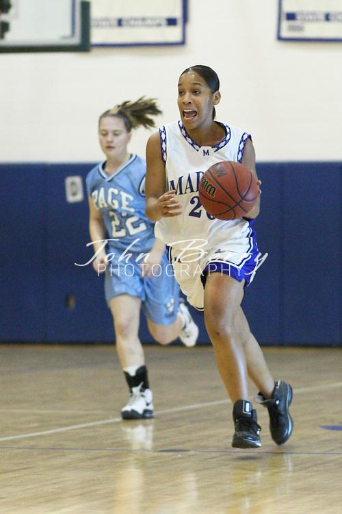 MCHS JV Girl's Basketball .vs Page .2/7/2009