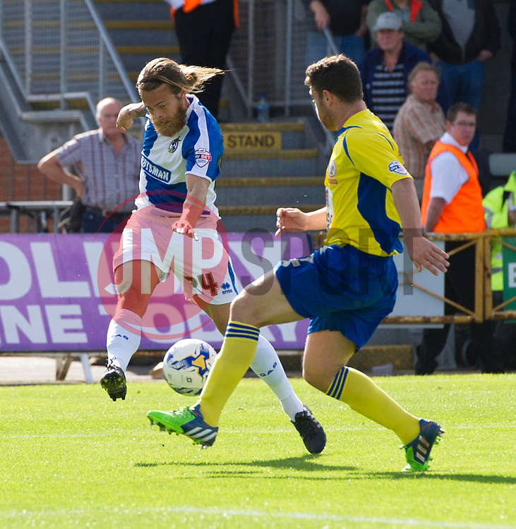 Stuart Sinclair of Bristol Rovers - Mandatory by-line: Paul Knight/JMP - Mobile: 07966 386802 - 12/09/2015 -  FOOTBALL - Memorial Stadium - Bristol, England -  Bristol Rovers v Accrington Stanley - Sky Bet League Two
