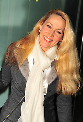 © Licensed to London News Pictures. 14/12/2011. London, England. Jerry Hall attends the English National Ballet: The Nutcracker - Christmas Performance in St Martins London .  Photo credit : ALAN ROXBOROUGH/LNP