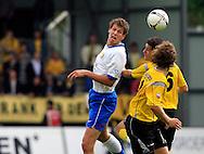 27-05-2007: Voetbal: VVV Venlo - RKC Waalwijk: Venlo<br /> RKC Waalwijk is gedegradeerd naar de Jupiler League.<br /> Jan Vertonghen wint het luchtduel van Ekrem Kahya<br /> foto : Geert van Erven