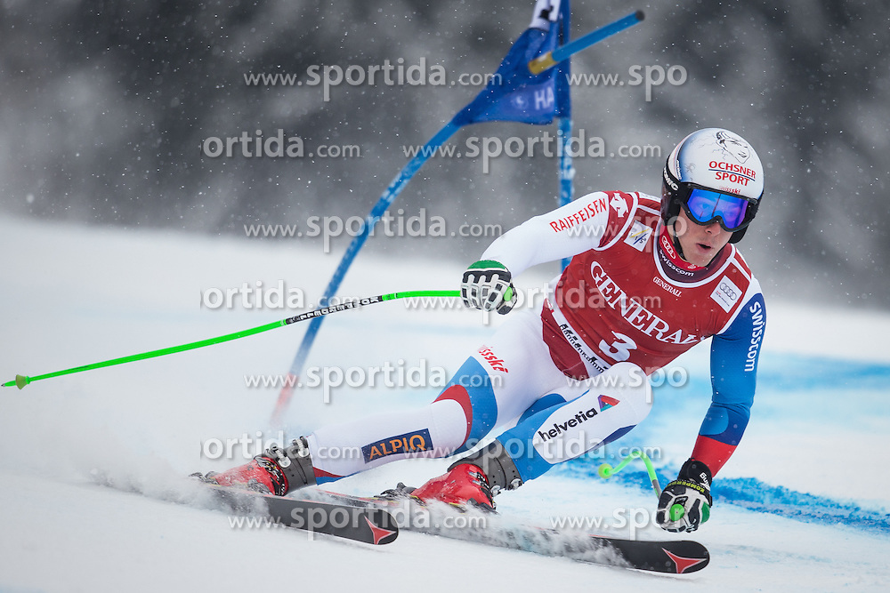 25.01.2013, Streif, Kitzbuehel, AUT, FIS Weltcup Ski Alpin, Super G, Herren, im Bild Carlo Janka (SUI) // Carlo Janka of Switzerland in action during mens SuperG of the FIS Ski Alpine World Cup at the Streif course, Kitzbuehel, Austria on 2013/01/25. EXPA Pictures © 2013, PhotoCredit: EXPA/ Johann Groder