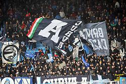 Foto LaPresse/Filippo Rubin<br /> 12/05/2019 Ferrara (Italia)<br /> Sport Calcio<br /> Spal - Napoli - Campionato di calcio Serie A 2018/2019 - Stadio &quot;Paolo Mazza&quot;<br /> Nella foto: I TIFOSI DEL NAPOLI<br /> <br /> Photo LaPresse/Filippo Rubin<br /> May 12, 2019 Ferrara (Italy)<br /> Sport Soccer<br /> Spal vs Napoli - Italian Football Championship League A 2018/2019 - &quot;Paolo Mazza&quot; Stadium <br /> In the pic: NAPOLI SUPPORTERS