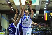 DESCRIZIONE : Sassari Lega A 2012-13 Dinamo Sassari Lenovo Cant&ugrave; Quarti di finale Play Off gara 2<br /> GIOCATORE : Sani Becirovic<br /> CATEGORIA : Tiro<br /> SQUADRA : Dinamo Sassari<br /> EVENTO : Campionato Lega A 2012-2013 Quarti di finale Play Off gara 2<br /> GARA : Dinamo Sassari Lenovo Cant&ugrave; Quarti di finale Play Off gara 2<br /> DATA : 11/05/2013<br /> SPORT : Pallacanestro <br /> AUTORE : Agenzia Ciamillo-Castoria/M.Turrini<br /> Galleria : Lega Basket A 2012-2013  <br /> Fotonotizia : Sassari Lega A 2012-13 Dinamo Sassari Lenovo Cant&ugrave; Play Off Gara 2<br /> Predefinita :