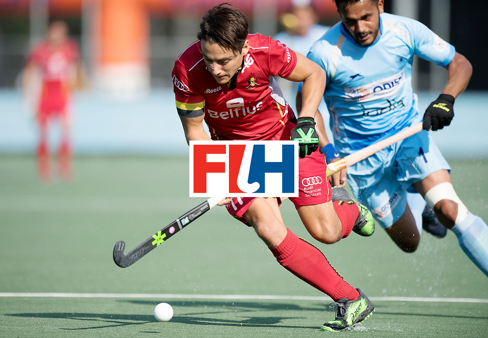 BREDA - Rabobank Hockey Champions Trophy<br /> India - Belgium<br /> Photo: Thomas Briels.<br /> COPYRIGHT WORLDSPORTPICS FRANK UIJLENBROEK