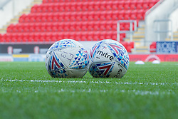 Official Sky Bet Mitre match day footballs - Mandatory by-line: Ryan Crockett/JMP - 28/10/2017 - FOOTBALL - Aesseal New York Stadium - Rotherham, England - Rotherham United v Gillingham - Sky Bet League One