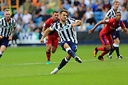 GOAL, PENALTY - Lee Gregory scores for Millwall 2-1  during the EFL Sky Bet League 1 match between Millwall and Rochdale at The Den, London, England on 24 September 2016. Photo by Daniel Youngs.