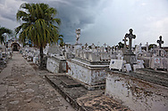 The cemetery in Holguin, Cuba.