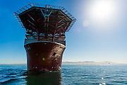 Front view of Boa Sub C Multi purpose Offshore Vessel