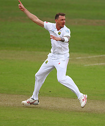 Dale Steyn appeals for an lbw decision during day two of the first test match between South Africa and New Zealand held at the Kingsmead stadium in Durban, KwaZulu Natal, South Africa on the 20th August 2016<br /> <br /> Photo by:   Anesh Debiky / Real Time Images