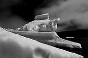 Greenland Icebergs, Seascapes Coastline, Toogood Arm, NL, Canada