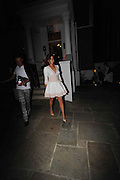 Jess wright Leaves the ITV Summer Party  with new lady attached to his arm ,Chepstow Villas, Notting Hill,London<br /> ©Exclusivepix Media