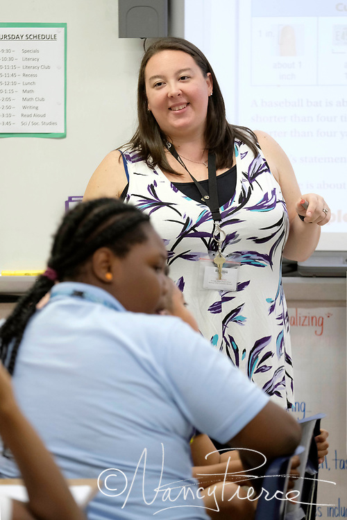 Jessica Secondi is Highland Rennaissance Elementary School Teacher of the Year