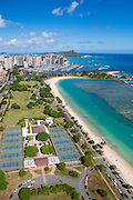 Ala Moana Beach Park, Honolulu, Oahu, Hawaii