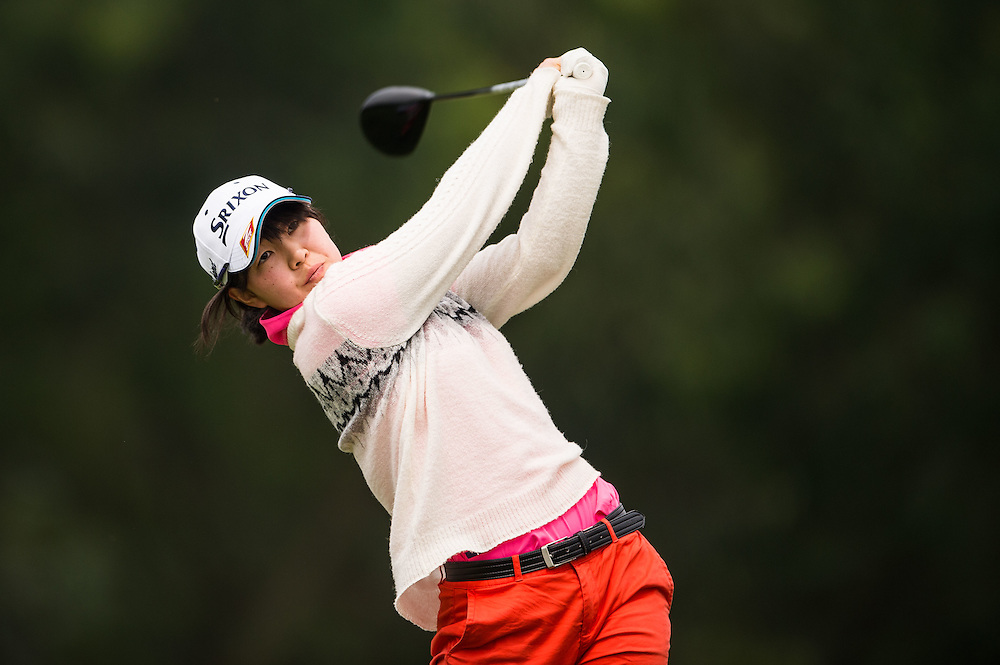 Hosho Takahashi of Japan in action during day three of the 10th Faldo Series Asia Grand Final at Faldo course on 04 March of 2016 in Shenzhen, China. Photo by Xaume Olleros.