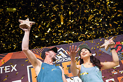 Winner Jernej Kruder of Slovenia during Award ceremony after Adidas RockStars 2018, on September 22, 2018 in Porsche-Arena, Stuttgart, Germany. Photo by Urban Urbanc / Sportida