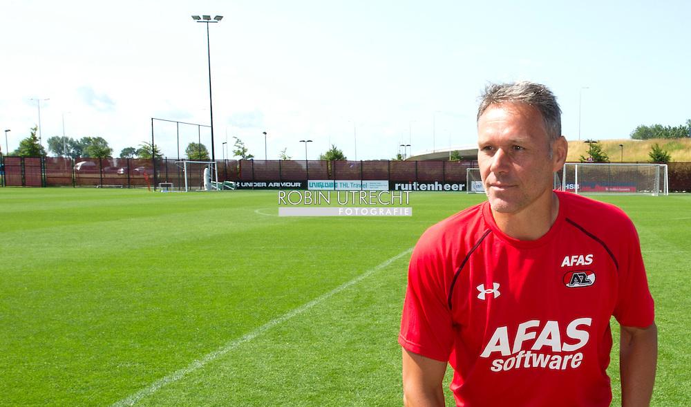 ALKMAAR - training AZ/Marco van Basten AFAS STADION Alkmaar 6-7-2015 COPYRIGHT ROBIN UTRECHT