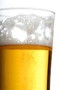 Glass of beer - studio shot