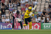 Colin Munro of Hampshire batting during the Vitality T20 Blast South Group match between Hampshire County Cricket Club and Middlesex County Cricket Club at the Ageas Bowl, Southampton, United Kingdom on 20 July 2018. Picture by Dave Vokes.