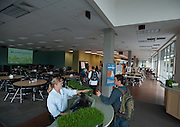 Students use The MarketPlace at the BARC during the first week of school. (Photo by Rajah Bose)