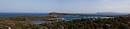 Rondinara bay near Bonifacio, Corsica south  /  la baie de Rondinara pres de Bonifacio, Corse du sud