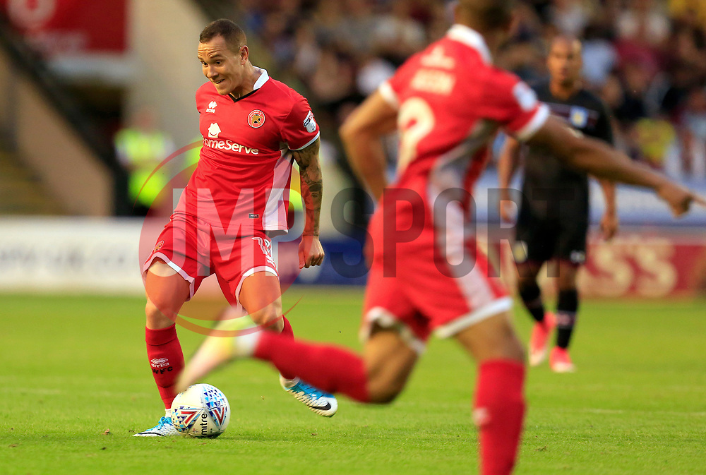 Kieron Morris of Walsall - Mandatory by-line: Paul Roberts/JMP - 18/07/2017 - FOOTBALL - Bescot Stadium - Walsall, England - Walsall v Aston Villa -  Pre-season friendly
