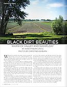 "Chronogram, July 2015, ""Black Dirt Beauties"""
