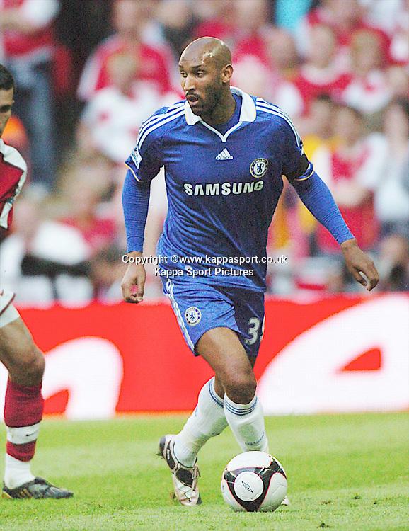 NICOLAS ANELKA, CHELSEA, Arsenal v Chelsea, FA Cup Semi Final, Wembley Stadium, Saturday 18th April 2009