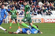 Rhys Murphy forward for AFC Wimbledon (39) during the Sky Bet League 2 match between Hartlepool United and AFC Wimbledon at Victoria Park, Hartlepool, England on 25 March 2016. Photo by Stuart Butcher.