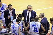 DESCRIZIONE : Milano Coppa Italia Final Eight 2014 SemiFinale Banco di Sardegna Sassari Grissin Bon Reggio Emilia<br /> GIOCATORE : Romeo Sacchetti<br /> CATEGORIA : coach schema allenatori time out <br /> SQUADRA : Banco di Sardegna Sassari <br /> EVENTO : Beko Coppa Italia Final Eight 2014 <br /> GARA : Banco di Sardegna Sassari Grissin Bon Reggio Emilia<br /> DATA : 08/02/2014 <br /> SPORT : Pallacanestro <br /> AUTORE : Agenzia Ciamillo-Castoria/N.Dalla Mura <br /> GALLERIA : Lega Basket Final Eight Coppa Italia 2014 <br /> FOTONOTIZIA : Milano Coppa Italia Final Eight 2014 Semifinale Banco di Sardegna Sassari Grissin Bon Reggio Emilia