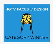 Winner!  HGTV Faces of Design 2016 People's Choice Award!