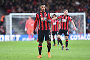 Lys Mousset (31) of AFC Bournemouth during the Premier League match between Bournemouth and Tottenham Hotspur at the Vitality Stadium, Bournemouth, England on 11 March 2018. Picture by Graham Hunt.