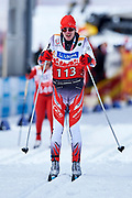 Schladming, Austria - 2017 March 20: Ladislav Meduna from SO Czech Republic competes in Cross Country Race while Special Olympics World Winter Games Austria 2017 in Ramsau am Dachstein on March 20, 2017 in Schladming, Austria.<br /> <br /> Mandatory credit:<br /> Photo by &copy; Adam Nurkiewicz / Mediasport<br /> <br /> Adam Nurkiewicz declares that he has no rights to the image of people at the photographs of his authorship.<br /> <br /> Picture also available in RAW (NEF) or TIFF format on special request.<br /> <br /> Any editorial, commercial or promotional use requires written permission from the author of image.<br /> <br /> Image can be used in the press when the method of use and the signature does not hurt people on the picture.