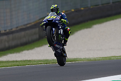 June 1, 2018 - Mugello, FI, Italy - Valentino Rossi of Movistar Yamaha MotoGP well up during the Free Practice 1 of the Oakley Grand Prix of Italy, at International  Circuit of Mugello, on June 01, 2018 in Mugello, Italy  (Credit Image: © Danilo Di Giovanni/NurPhoto via ZUMA Press)