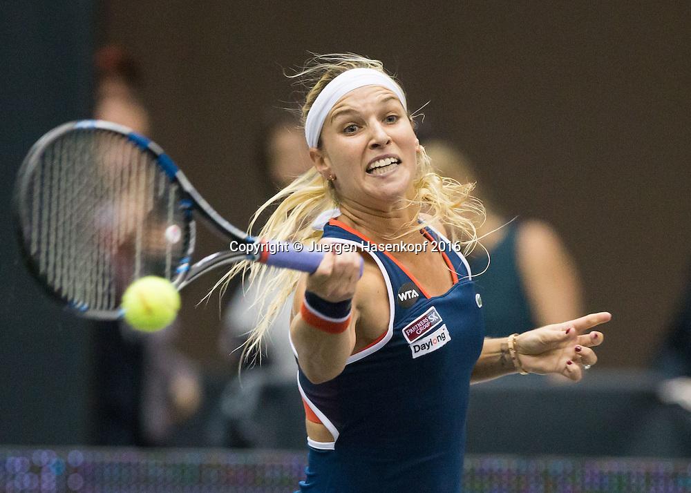 DOMINIKA CIBULKOVA (SVK)<br /> <br /> Tennis - Ladies Linz 2016 - WTA -  TipsArena  - Linz - Oberoesterreich - Oesterreich - 12 October 2016. <br /> &copy; Juergen Hasenkopf