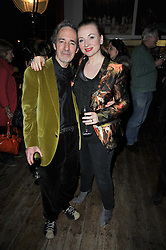 HARRY SHEARER and JUDITH OWEN at the gala night party of Losing It staring Ruby Wax held at he Menier Chocolate Factory, 51-53 Southwark Street, London SE1 on 23rd February 2011.