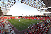 Rotherham United Aesseal stadium before the EFL Sky Bet League 1 match between Rotherham United and Plymouth Argyle at the AESSEAL New York Stadium, Rotherham, England on 16 December 2017. Photo by Ian Lyall.