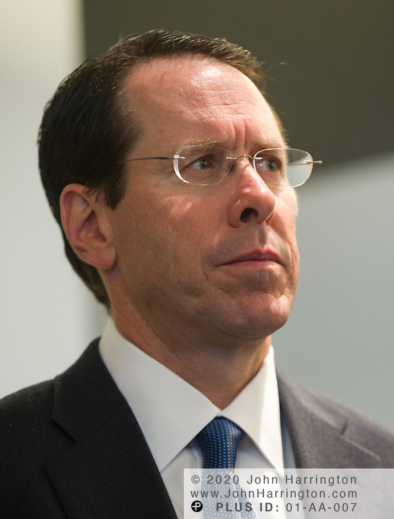 Randall Stephenson,  CEO of AT&T Inc. at a press conference announcing the release of the Business Roundtable Roadmap for Growth, Wednesday, December 8, 2010 at the Newseum in Washington DC.